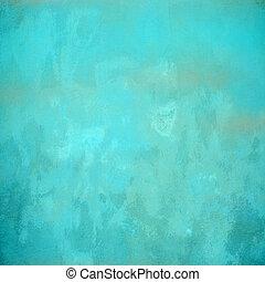 Turquoise concrete background