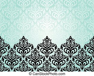 Turquoise decorative background - Turquoise decorative...