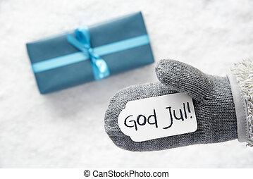 turquoise, gave, handske, gud, jul, betyder, glædelig jul