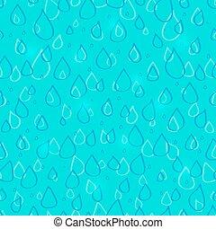 Water Drop Seamless Pattern