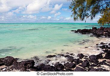 Turquoise lagoon