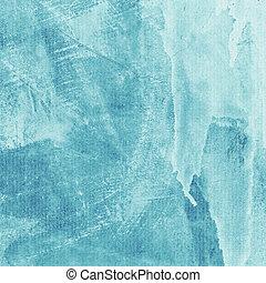 turquoise, mur, texture