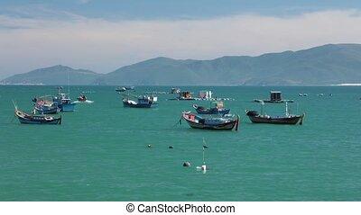 Turquoise Ocean Coastline High Definition Time Lapse -...