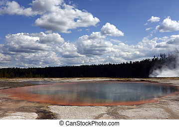 Turquoise Pool, Grand Prismatic Basin, Yellowstone National Park