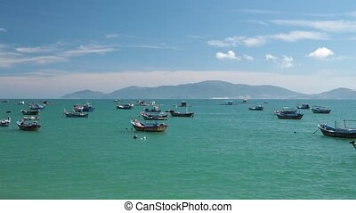 Turquoise Sea Vietnamese Coastline High Definition Movie -...