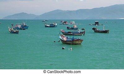 Turquoise Sea Vietnamese Coastline High Definition Movie -...