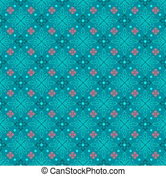 Turquoise seamless background classic