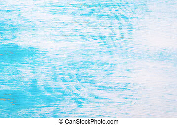 Turquoise Texture - Turquiose wooden texture in shabby chic...