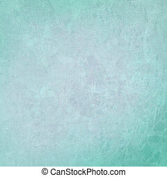 Turquoise textured background - Turquoise abstract on...