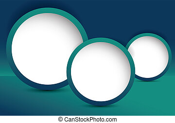 turquoise, væv, card, skabelon