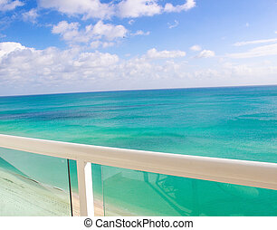Turquoise View of the atlantic