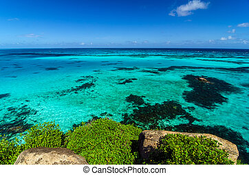 Turquoise Water View