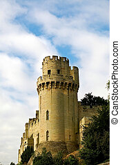 Turret - A view of one of the turrets at Warwick castle