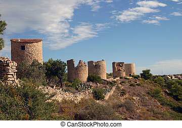 Turrets in Spain