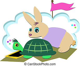 Turtle and Rabbit Race