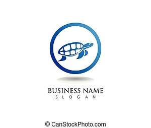 turtle animal cartoon image vector illustration design -...