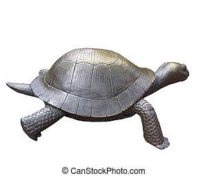 turtle, bronze