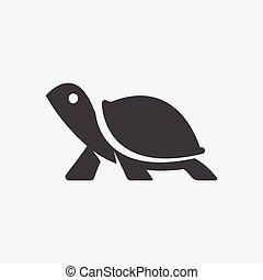 turtle icon illustration
