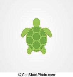 Turtle icon vector design