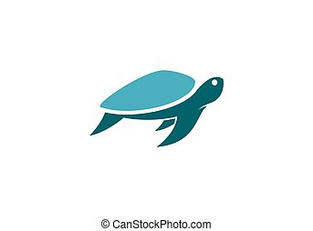 turtle logo vector