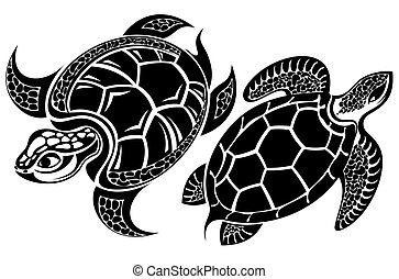Turtle - Tattoo reptiles