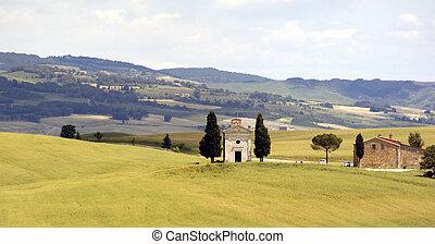 tuscan, 教会