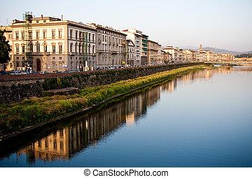 tuscan, 歴史的, 建築