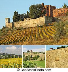 tuscan, 超大作, 構成, 風景