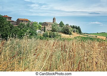 tuscan, 시골