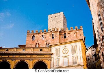 Tuscan historic architecture