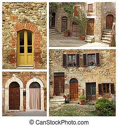 tuscan, samenstelling, woning, italië
