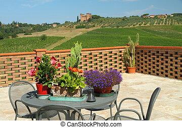 tuscan terrace