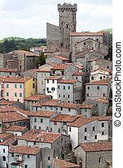 (tuscany, arcidosso, italy)