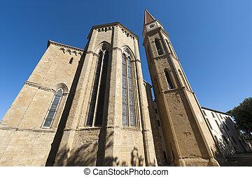 (tuscany, arezzo, italy), mittelalterlich, kathedrale