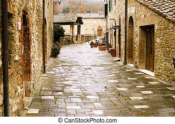 Tuscany. Bagno vignone therme