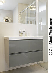 Tuscany - bathroom shelf