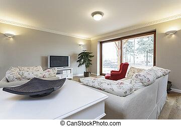 Tuscany - bright living room