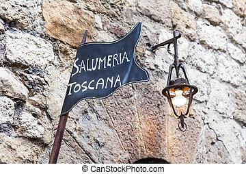 Tuscany butchery