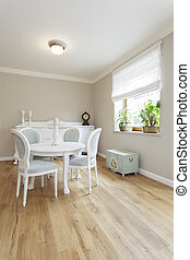 Tuscany - dining room - Tuscany - table and commode in...