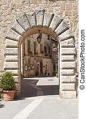 (tuscany, italy), sorano