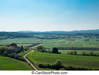 Tuscany, landscape.