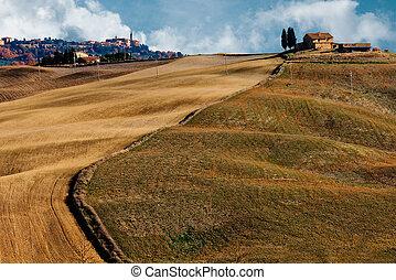 Tuscany rural landscape Italy