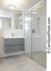 Tuscany - shower