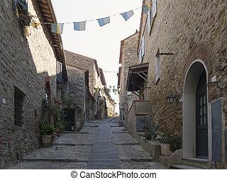 Tuscany town - castiglione della pescaia