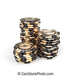 tussenvoegsels, diamant, goud, casino, black , luxe, frites