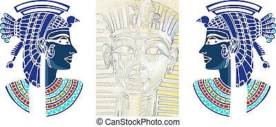 tutankamon, nefertiti