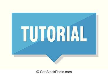 tutorial price tag - tutorial blue square price tag