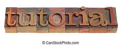 tutorial - word in letterpress type - tutorial - word in ...
