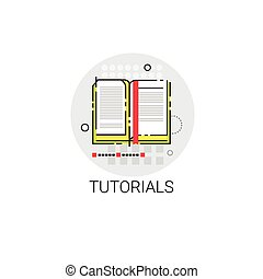 Tutorials Online Learning Distance Education Icon