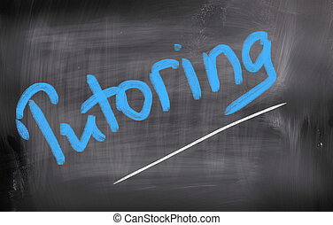 tutoring, concept